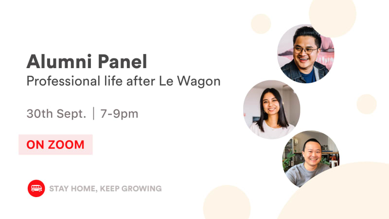 Le Wagon Talk: Alumni Panel 🎓
