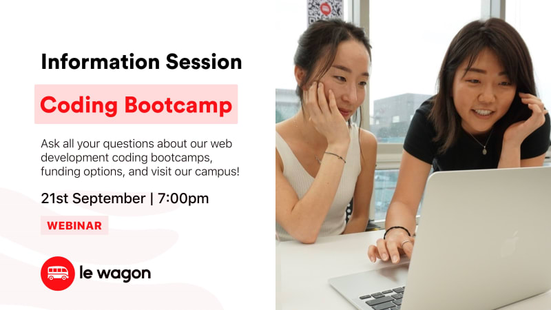 [Webinar] Le Wagon Coding Bootcamp - Information Session