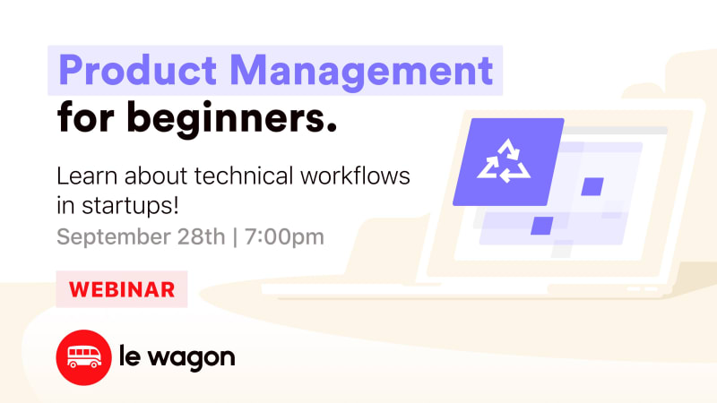 [Webinar] Learn about Product Management & Startups!