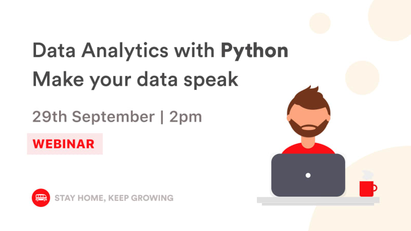English Webinar - Data Analytics with Python | Le Wagon