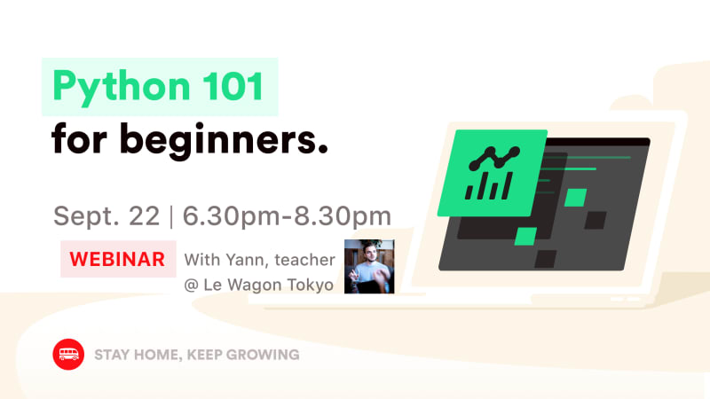 [WEBINAR] Python For Beginners