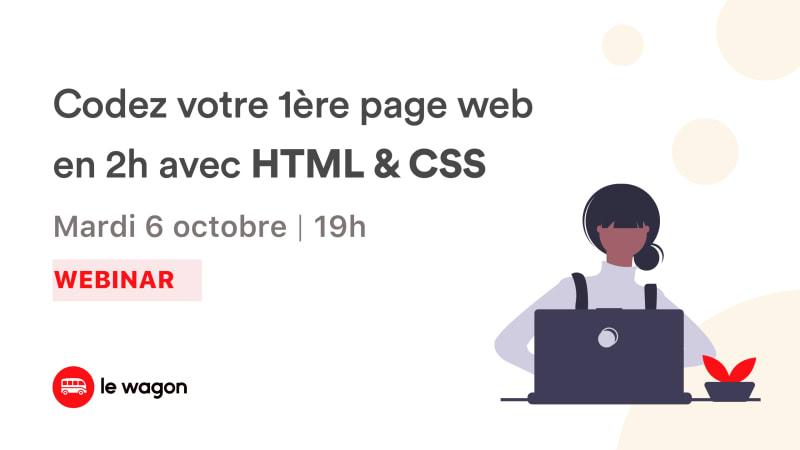 Codez votre première page web !