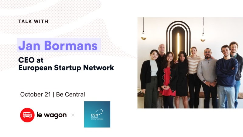 Apero Talk with Jan Bormans, CEO at European Startup Network