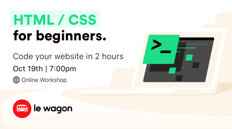 Build a Landing Page in 2 hours! - Online Workshop