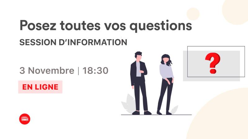 Session d'information : posez toutes vos questions sur Le Wagon