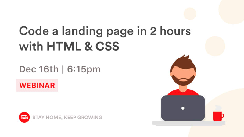 Design your landing page in 2 hours