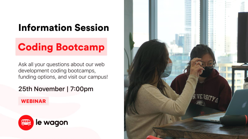 [Webinar] Discover our Coding Bootcamp - Information Session
