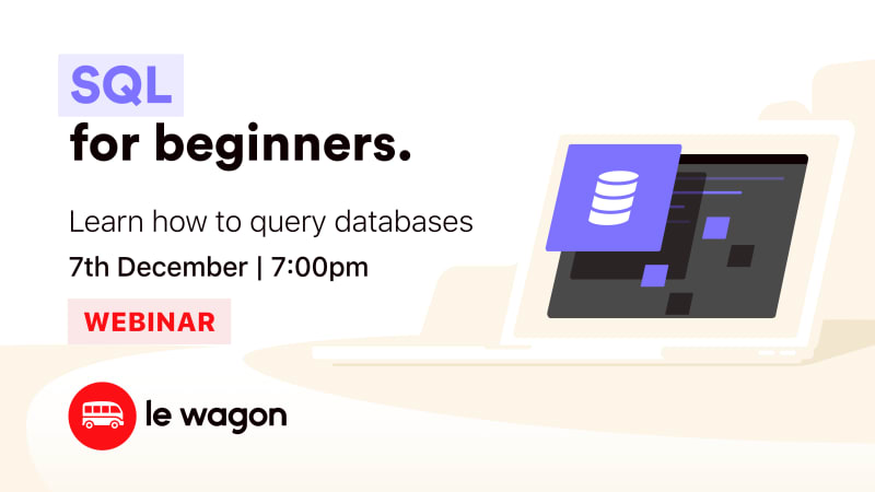 [Webinar] Learn how to query databases with SQL