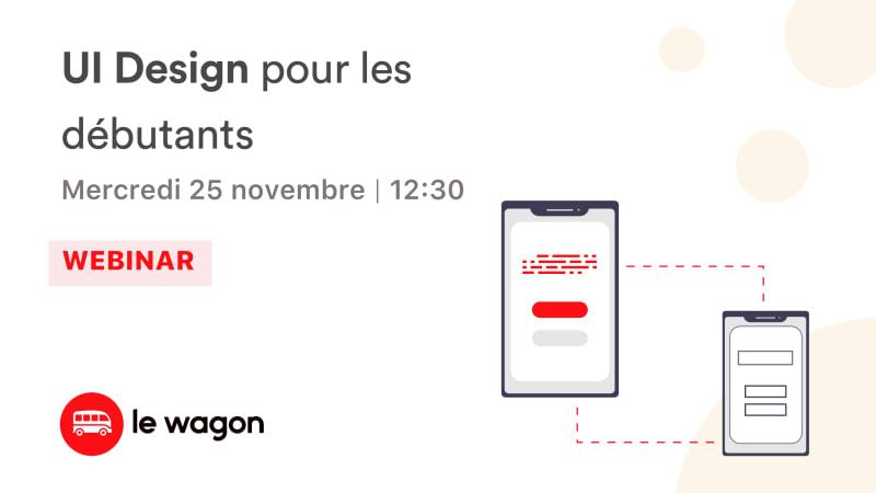[Webinar] UI Design pour les débutants