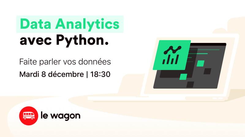[WEBINAR] Data Analytics avec Python