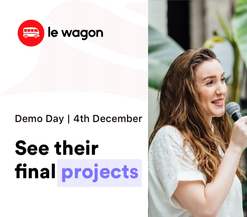 [Demo Day] Le Wagon Munich - Batch #489