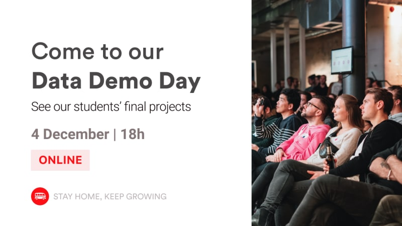 Data Demo Day | Come see our students projects | Le Wagon Rio