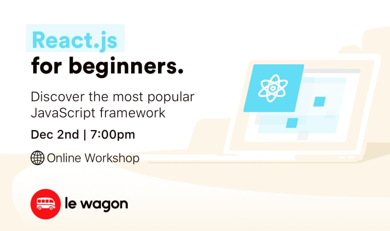 Introduction to React.js - Online Workshop