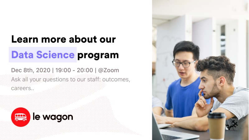 Le Wagon Data Science Open Day