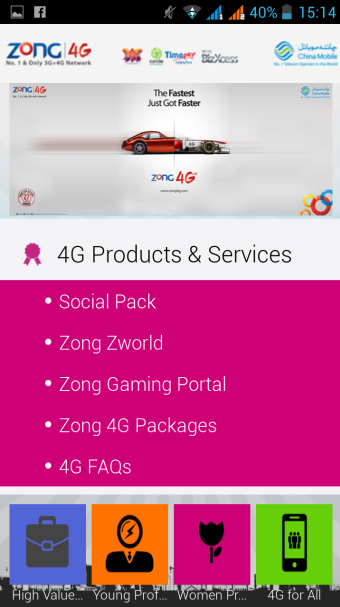4G Products & Services