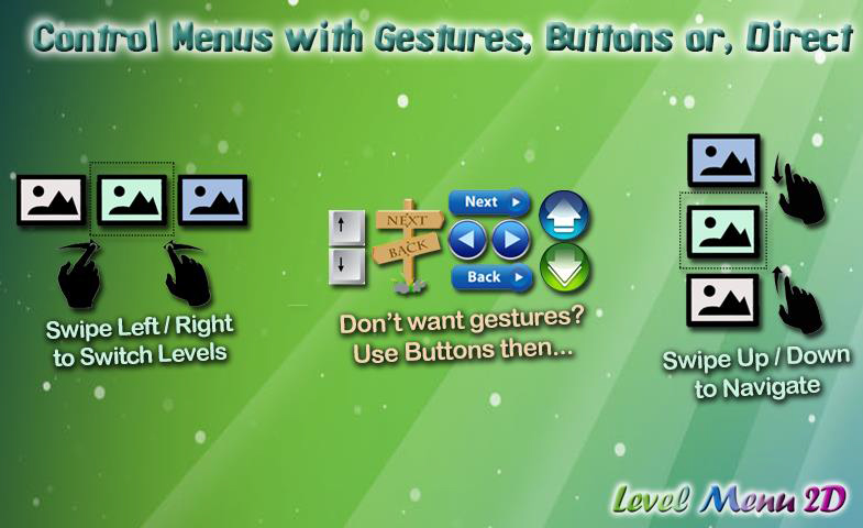 Buttons & Gestures
