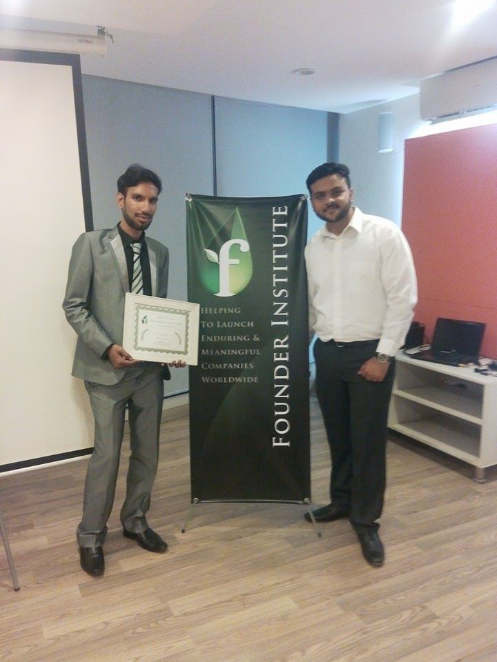 Graduated from Founder Institute - Karachi