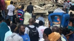 Building Collapses In Obalende, Lagos. 4 Dead