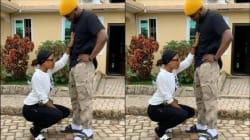 """Photos: """"Who Else Dey See Say De Guy Root?"""" – Ghanaians React After Akuapem Poloo & Mr. Drew Posed For The Gram In A Romantic Position"""