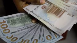 Nigerian's naira sinks to lowest level in weeks