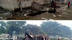 Cross River State Ministry Of Works Burnt Down