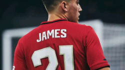 Daniel James is on fire