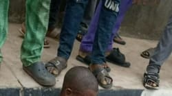Man Beaten Mercilessly By Ogun Parking Management Officers