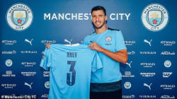 Manchester City announce £64m signing of Ruben Dias from Benfica on a six-year deal
