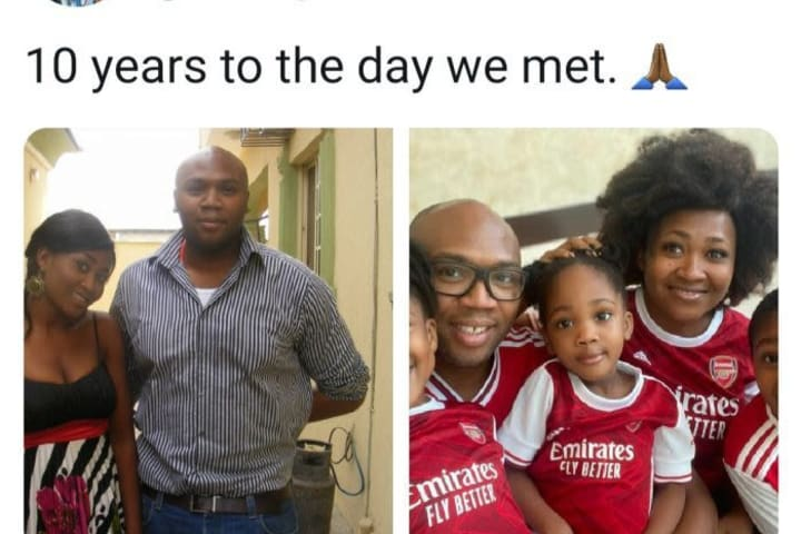 iROKOtv boss Jason Njoku shows off family photo