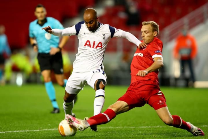 Sloppy Tottenham suffer historic loss against Antwerp