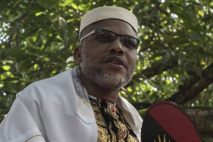 Blockade of farm products from North to South act of war – Nnamdi Kanu