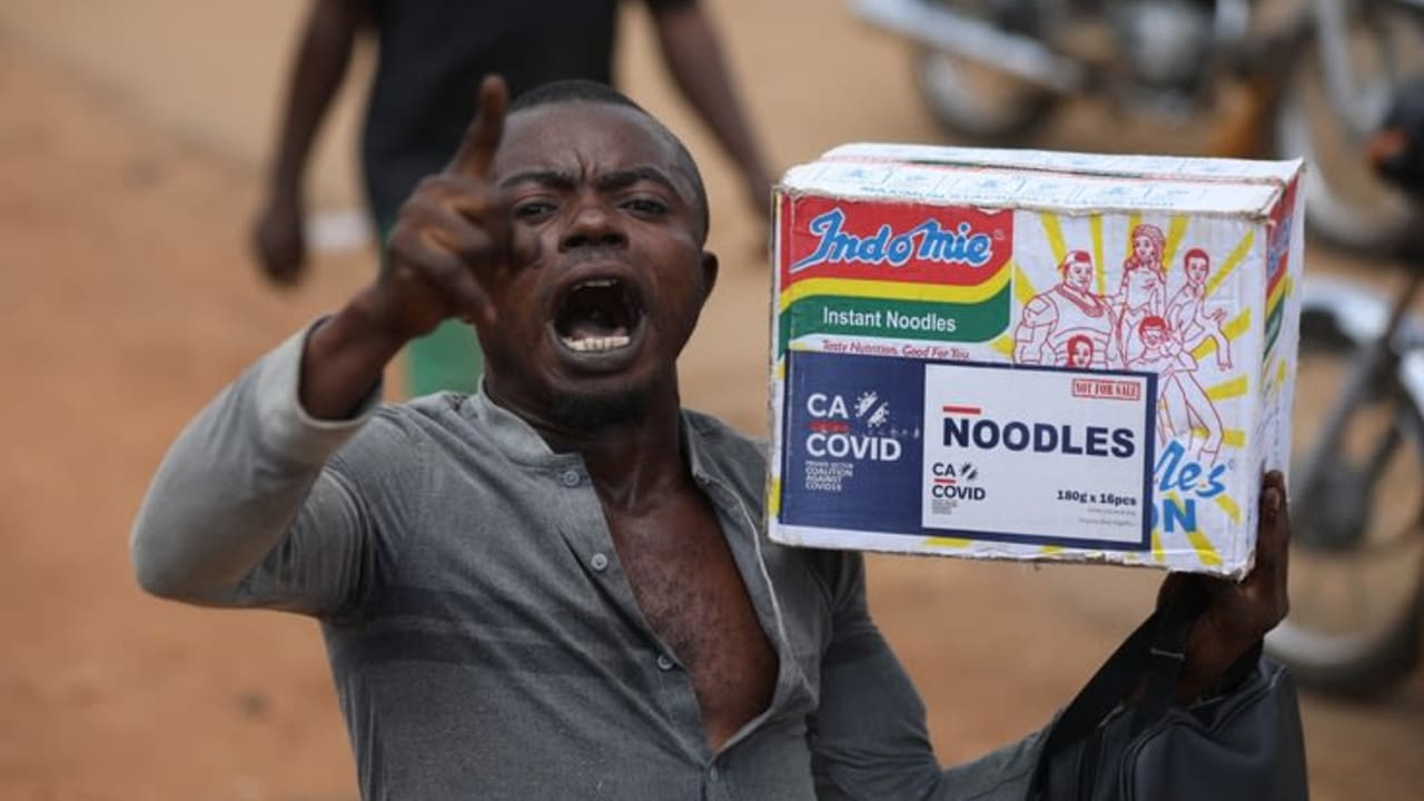 Nigerians justify Massive Looting of COVID-19 Supplies