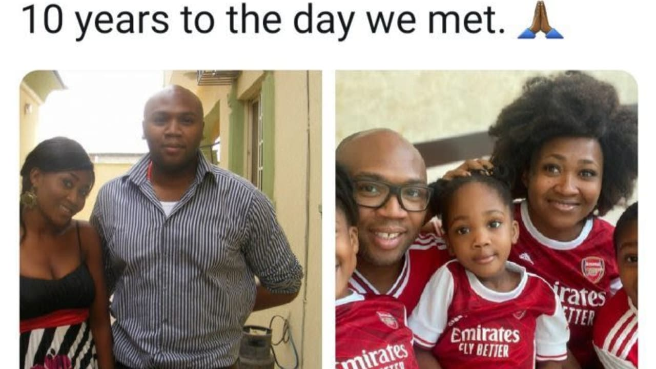 iROKOtv boss Jason Njoku shows off family photo