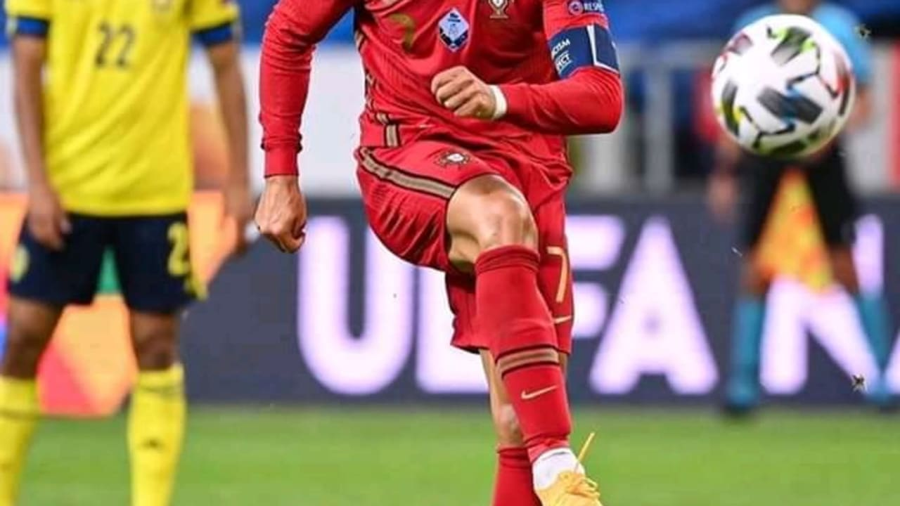 Cristiano Ronaldo has done it again