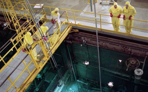 There are a lot of dangerous jobs out there, but nuclear diving takes the (yellow) cake.