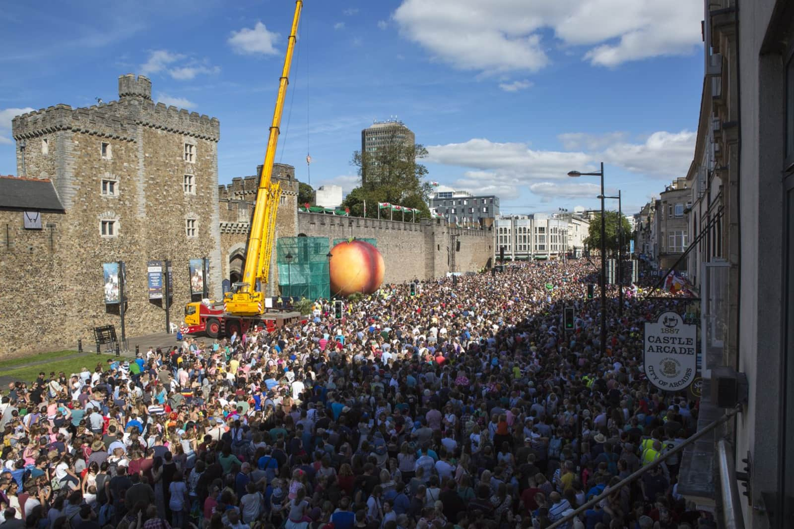 Thousands of people from across Wales and beyond came to experience the mass live event