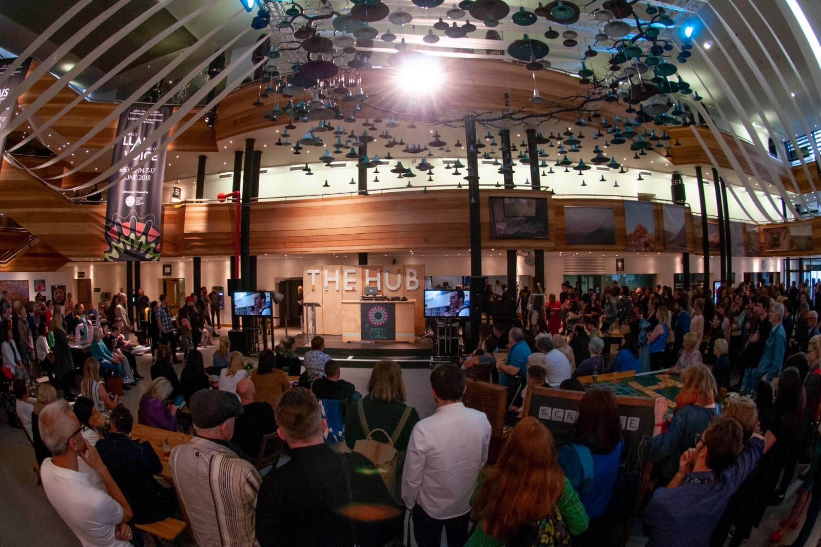 Festival of Voice Hub in Glanfa