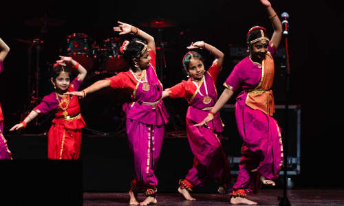 A local Tamil dancing group