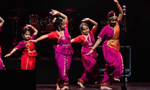 Grŵp ddawns Tamil lleol
