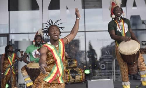 Nimba Dance a The Successors of the Mandingue
