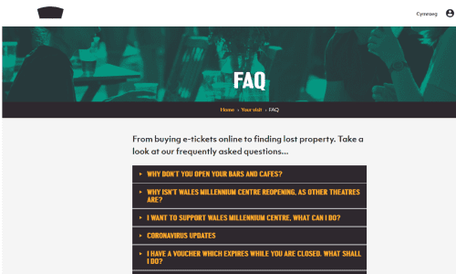 Visit our FAQ section for all the latest answers to your questions