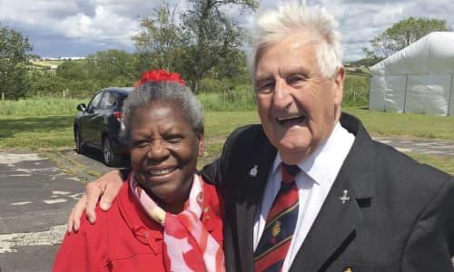 Race Council Cymru, Windrush Cymru Elders 2019 visit to Pembroke