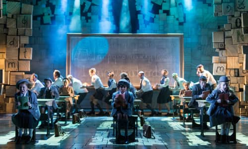 Matilda The Musical from the Royal Shakespeare Company, inspired by the beloved book by Roald Dahl.