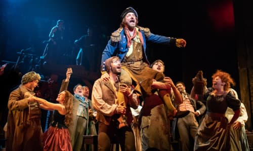 Martin Ball as Thenardier singing 'Master of the House' in Les Misérables