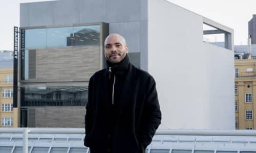 Benoit Swan Pouffer, Rambert's Artistic Director. Photo by Camilla Greenwell.