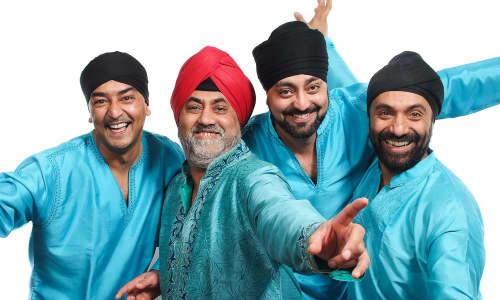 Bhangra Danceers