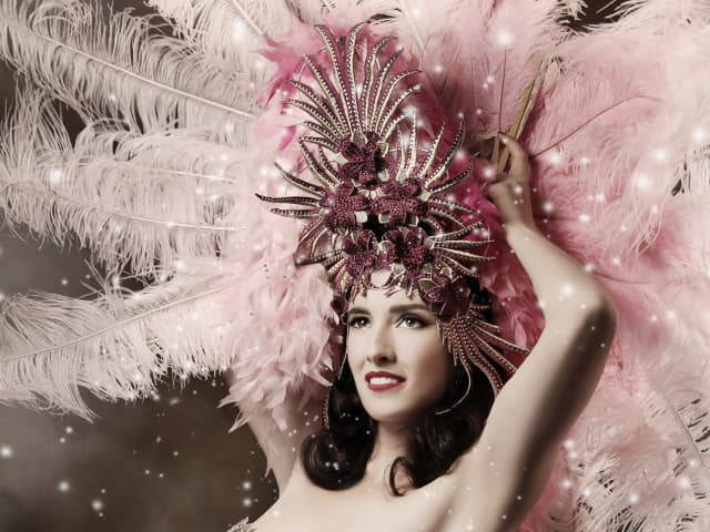 Burlesque act Foo Foo La Belle