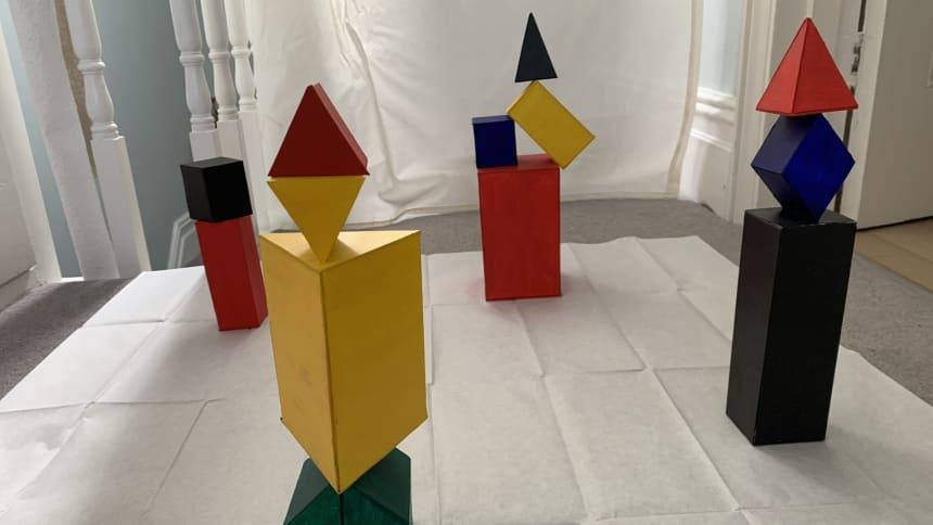 Cerfluniau gan / Sculptures by QuiMing Lipetz-Robic