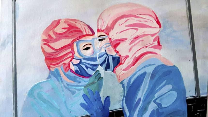 'Love knows no boundaries' gan / by Joanne Davies