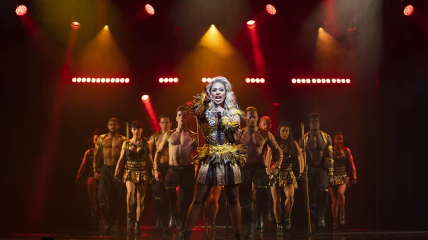 Alexandra Burke and Company in The Bodyguard